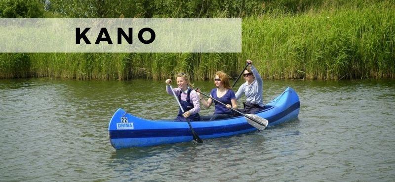 Kano huren in de Biesbosch
