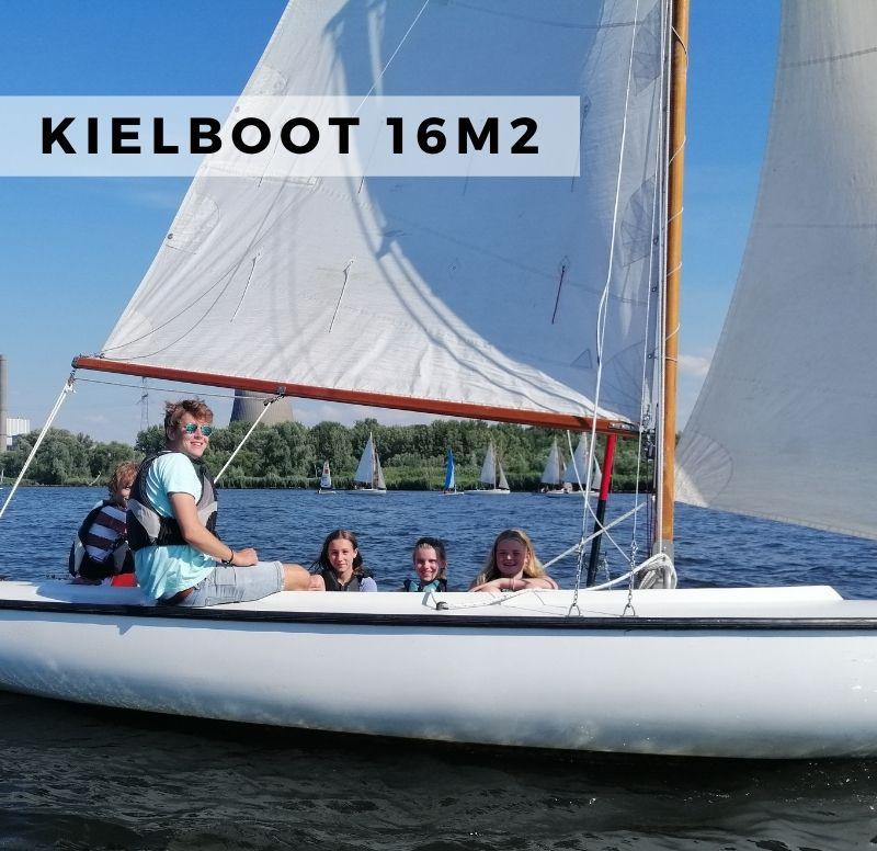 kielboot 16m2 zeilen
